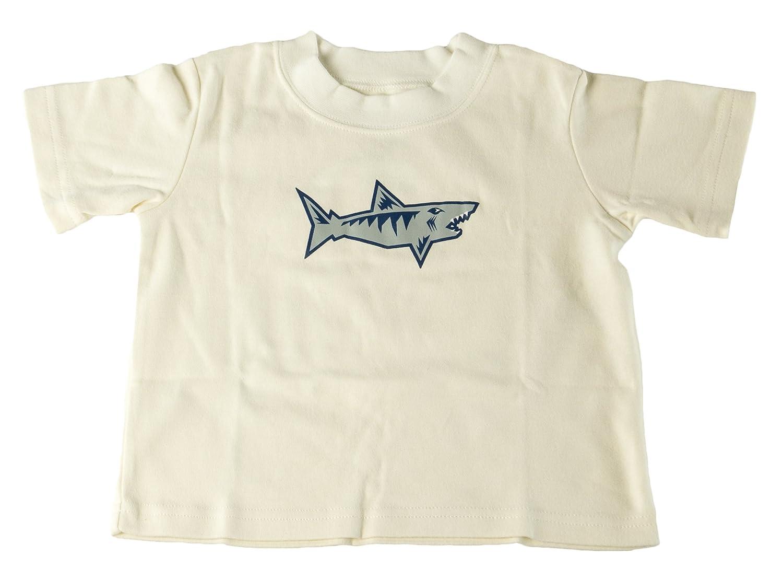 Sara's Prints Toddler Boy's Shark Pajama Shirt Sz 2 Cream Sara' s Prints SP510