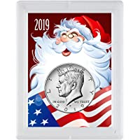 2019 P JFK Santa American Flag Half Dollar Brilliant Uncirculated