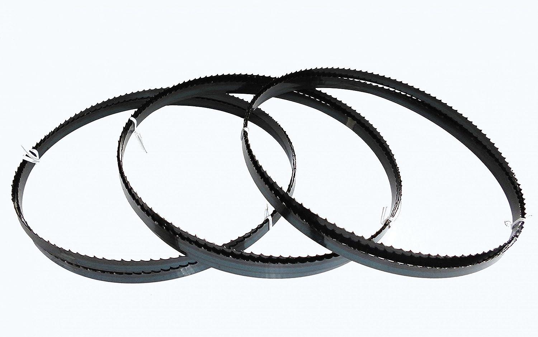 3 x Sägebänder Sägeband 2225 x 13 x 0,65 mm 4 ZpZ Holz Metabo BAS 380 / 1638 Werkzeug Prüver