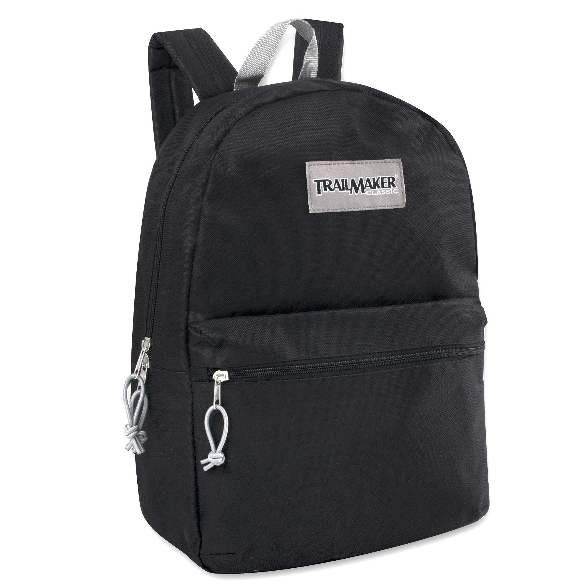 17'' Trailmaker Backpack Bookbag (Black (01))