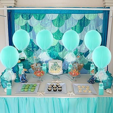 Amazon.com: Juego de globos de tutú de mesa con base de caja ...