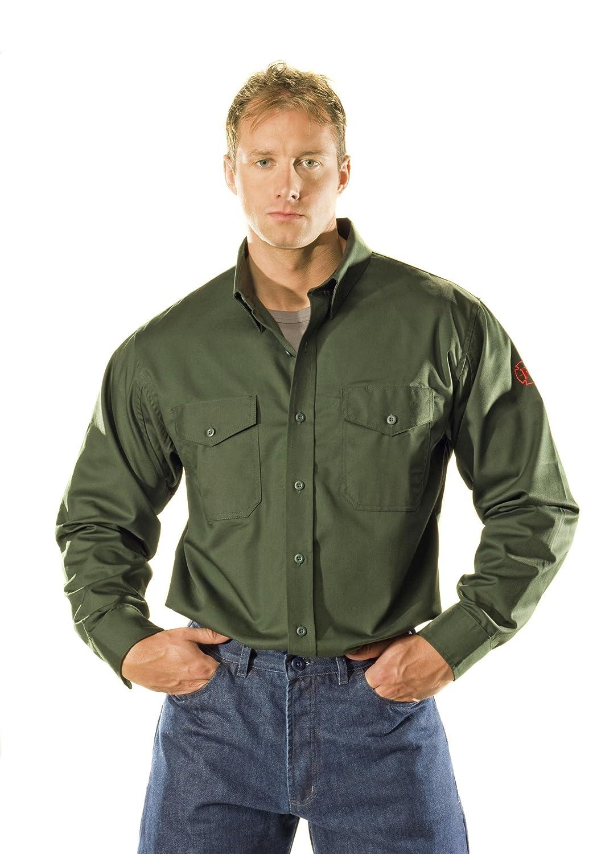 Benchmark Camisa con botones frontales para hombre, resistente al fuego, ligera, HRC 1: Amazon.es: Amazon.es
