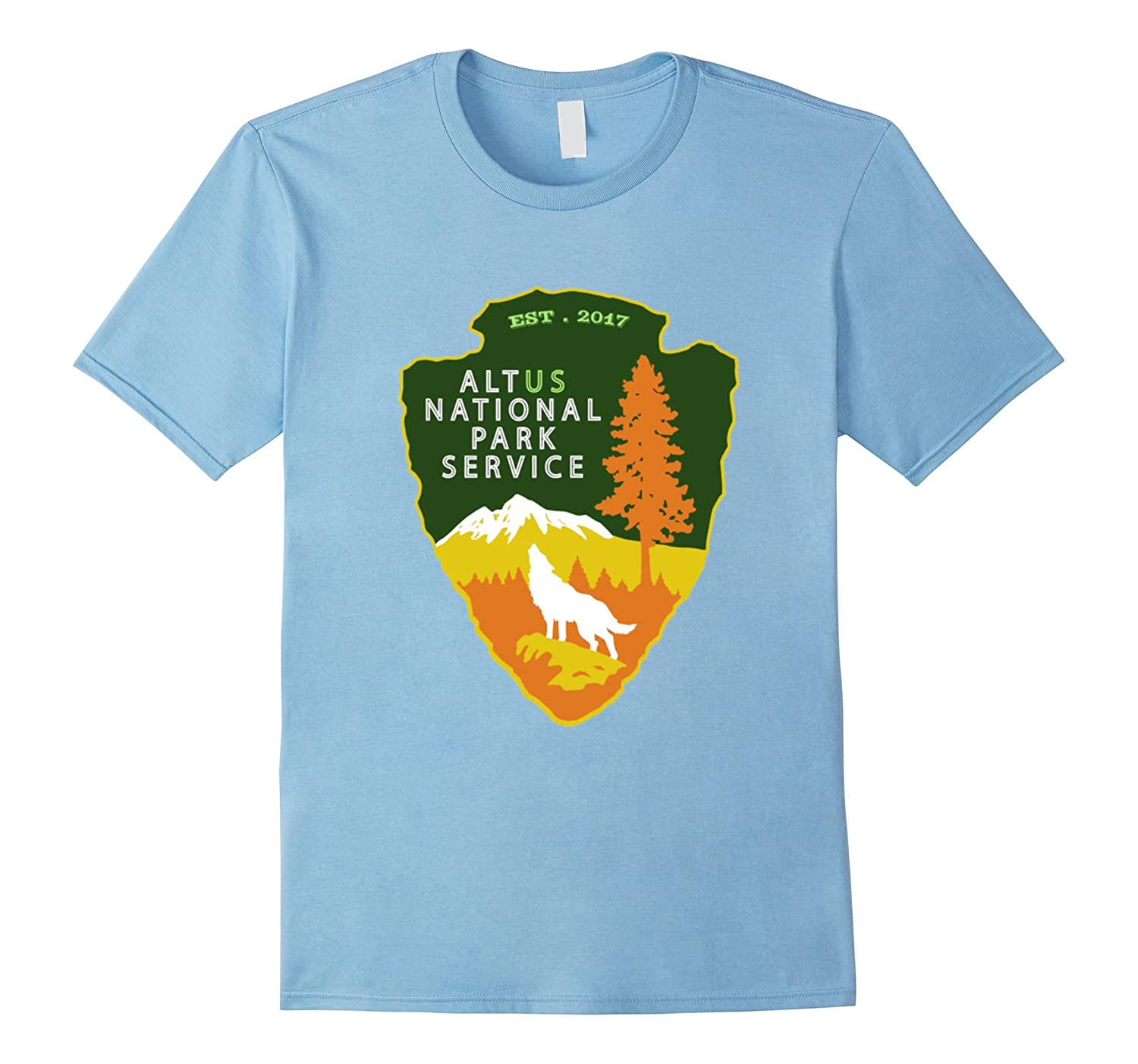 ALT US National Park Service Resist Bear T-shirt-TH