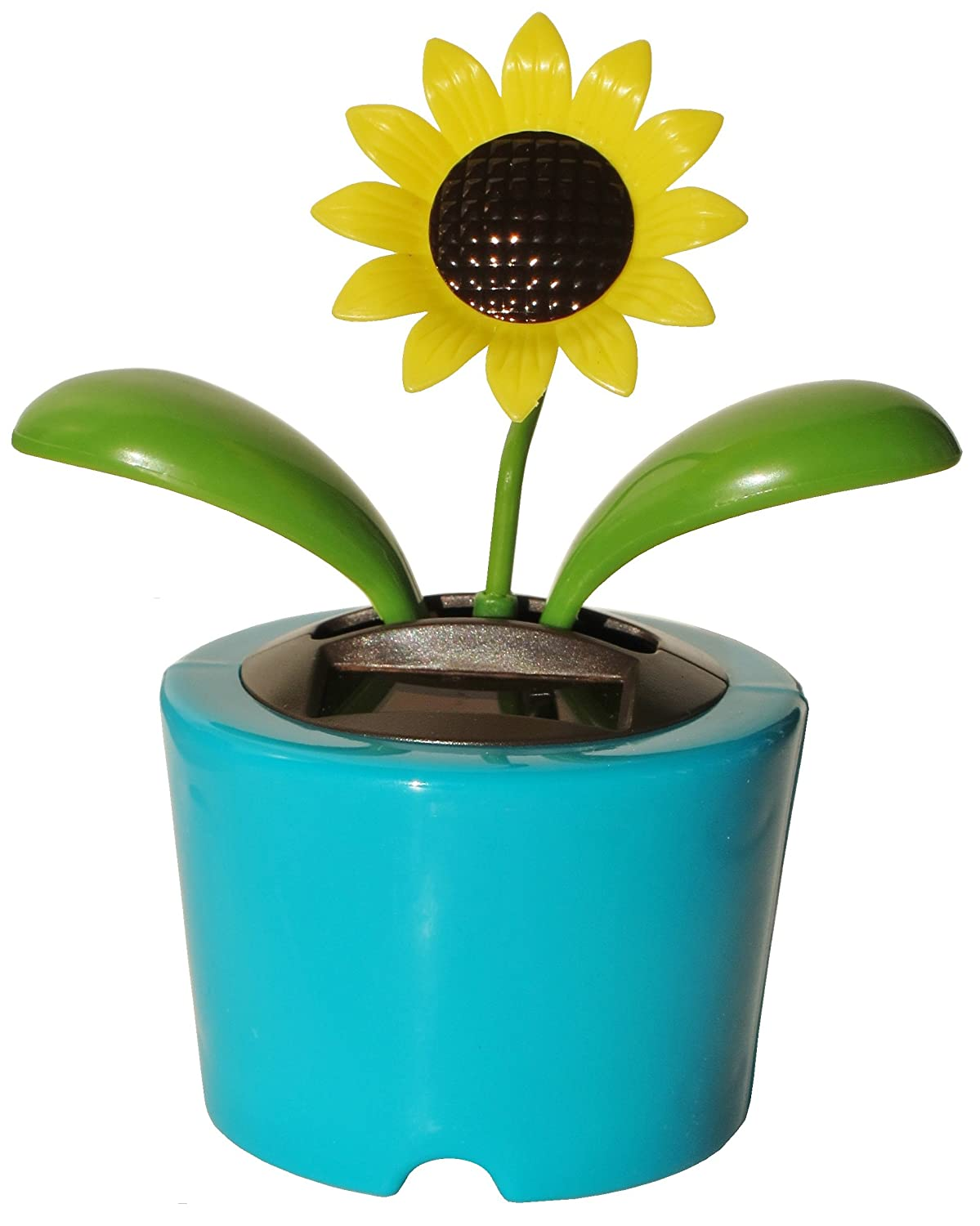 Amazon Solar Powered Plastic Sunflower Flip Flap Dancing
