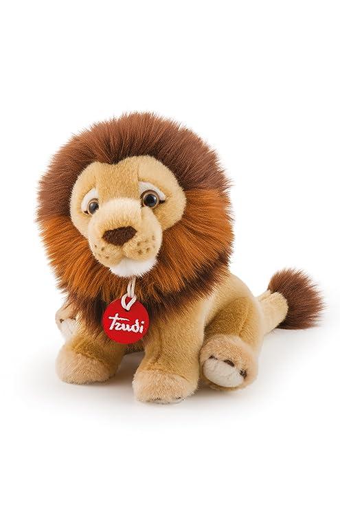 leone peluche  Trudi Leone Narciso Peluche, Colore Beige, 27 cm 27541:  ...