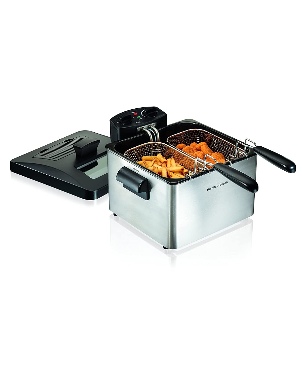 Hamilton Beach Electric Deep Fryer, 4.5-Liter Oil Capacity (35036)