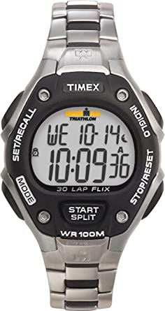 Image Unavailable. Image not available for. Color  Timex T5H981 Ironman  30-Lap Stainless Steel Bracelet Watch d8150a5f37b