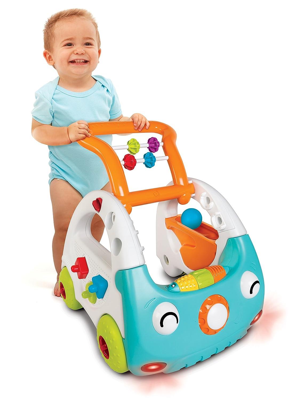 005216 Infantino Trotteur Pousseur Electronique Evolutif Senso Mini Car Aide /à la Marche