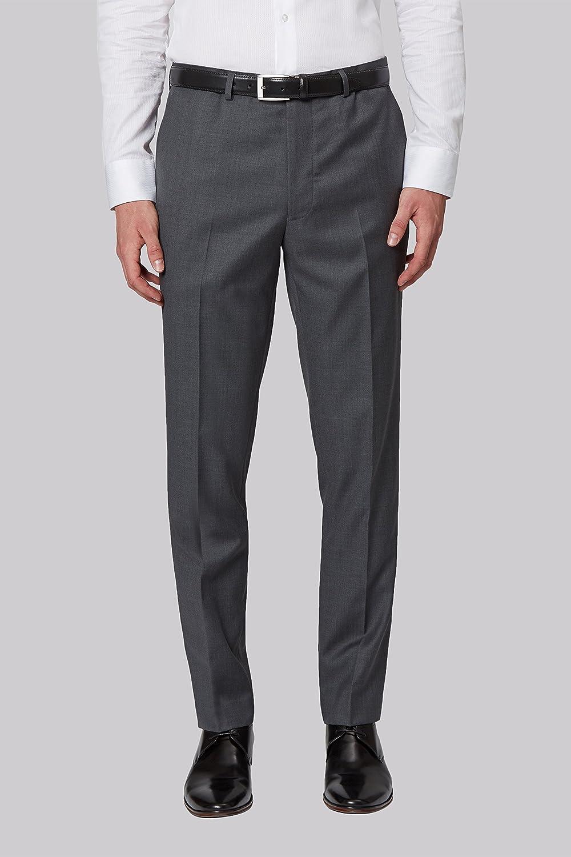 1df3cf40a74 French Connection Men`s Slim Fit Plain Grey Suit Trousers  Amazon.co.uk   Clothing