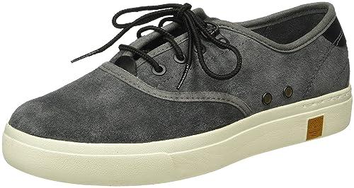 Timberland Damen Amherst Suede Ox Sneaker, Grau (Forged Iron Hammer Suede), 40 EU