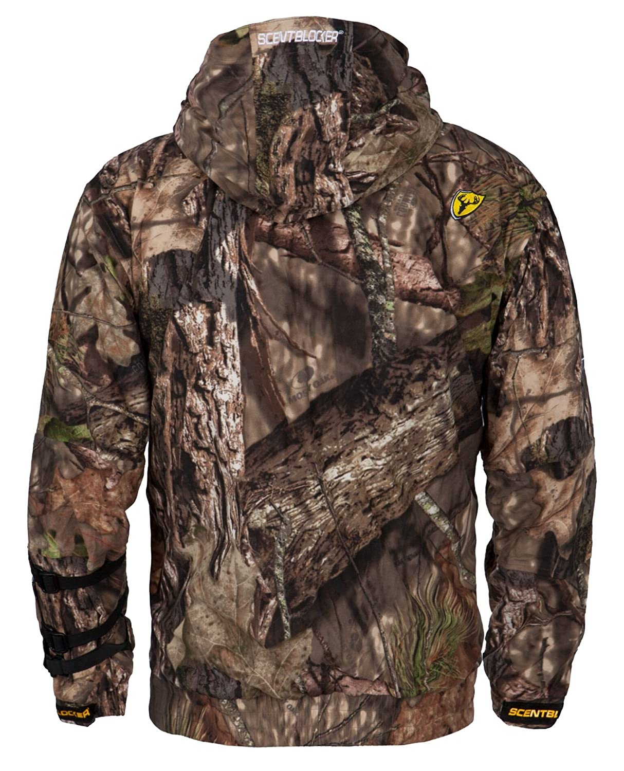 77cdce4df475b Amazon.com : Scent Blocker Outfitter Jacket, Mossy Oak Country : Sports &  Outdoors