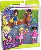 Mattel Polly Pocket W8732 - Freundinnen Geschenkset Cupcake Party, 4 Puppen