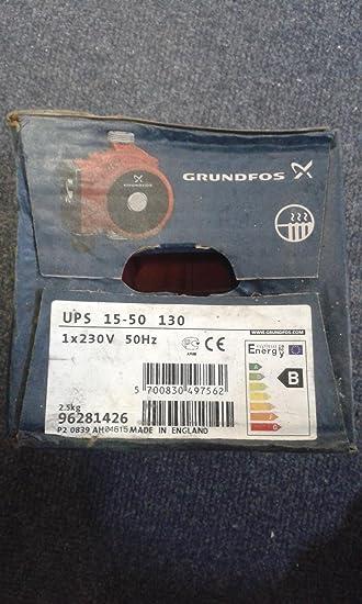 Grundfos UPS 15–50 Zentralheizung Pumpe. * NEU *: Amazon.de: Baumarkt