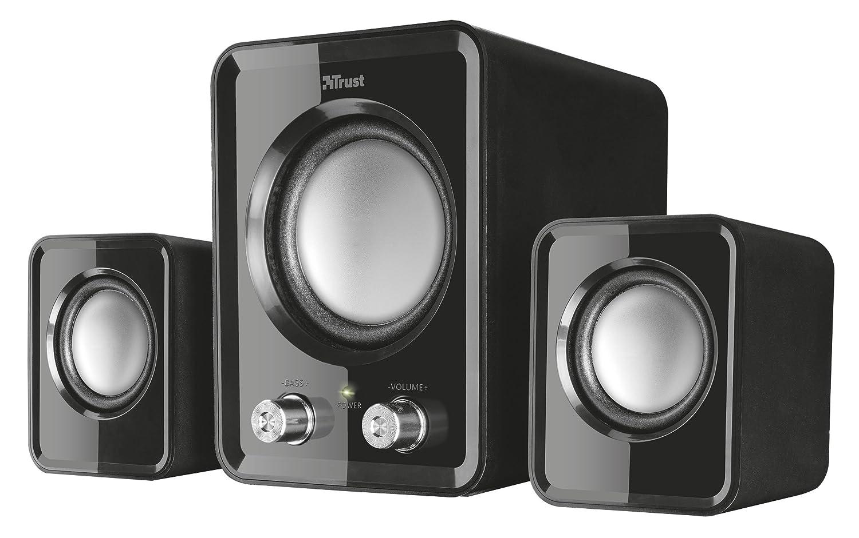 Trust Ziva Compact 2.1 - Altavoces, Color Negro 21525