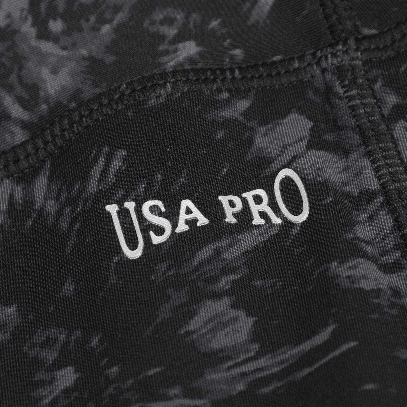 USA Pro Damen Training Leggings Leicht Fitness Sporthose Leicht Trainingshose