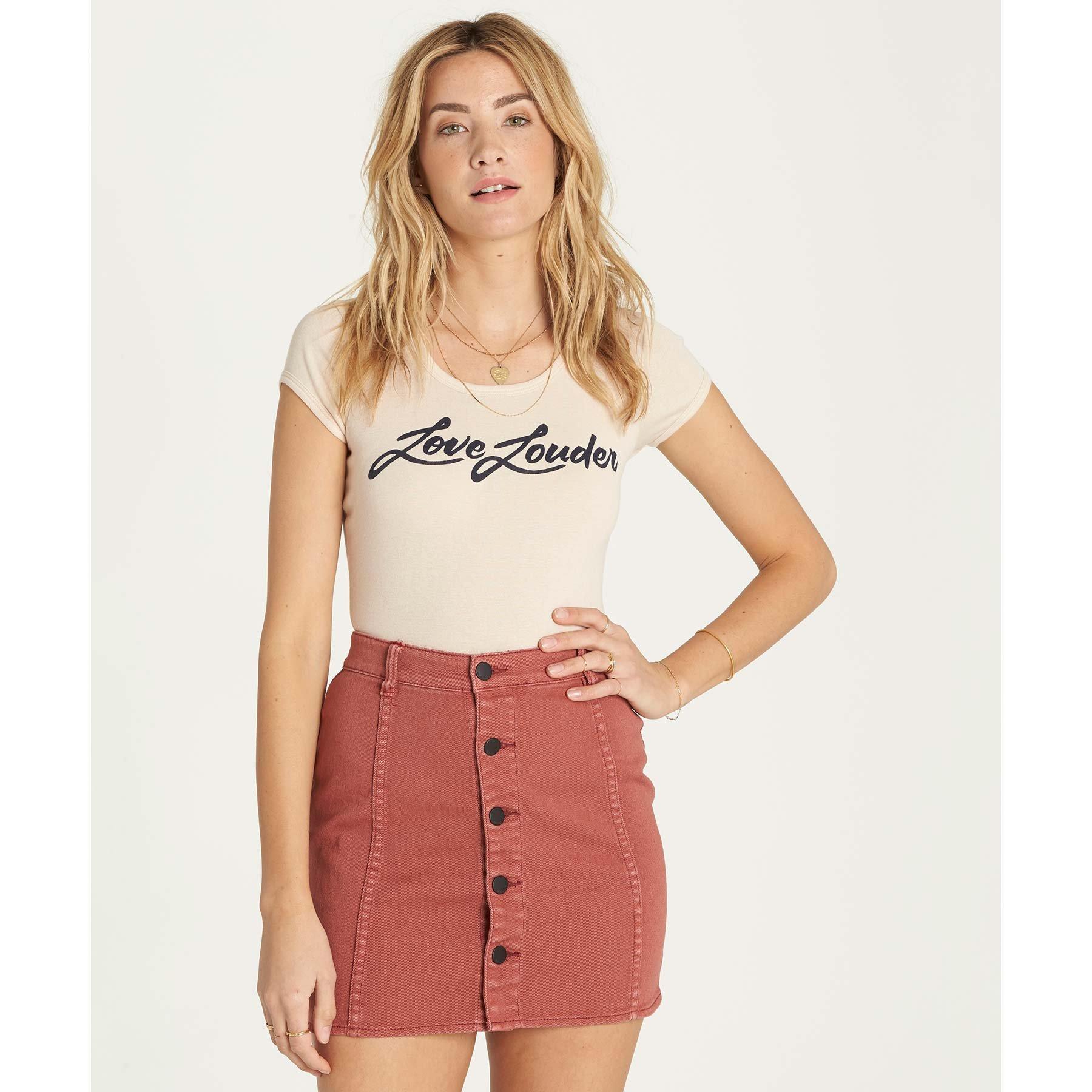 Billabong Women's Nights Like This Skirt Henna 29