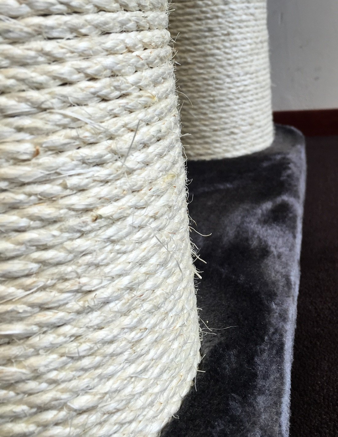 Amazon.com : Cat Tree for Large Cats - Cat Empire Dark Grey - 72 inch 143 lbs 6 inch Ø poles - Total size 72x47x24 inch - Cat Scratcher scratching post ...