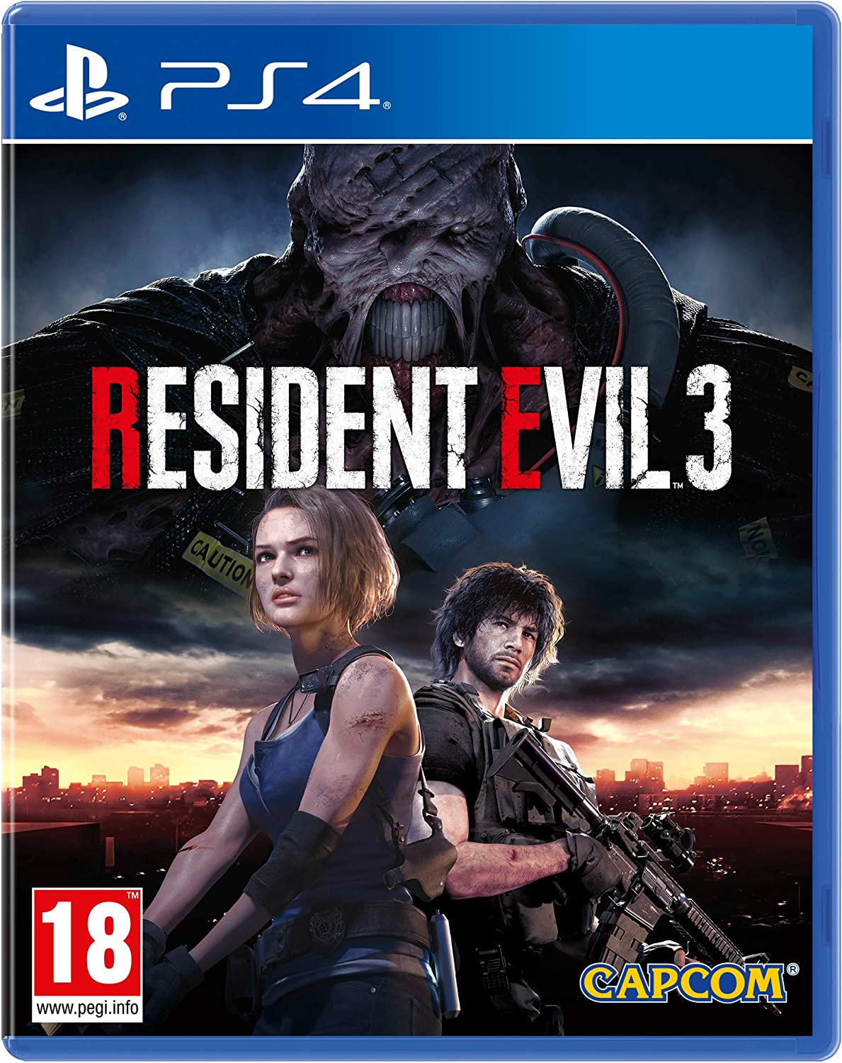 Resident Evil 3 Remake - PS4: Amazon.es: Videojuegos