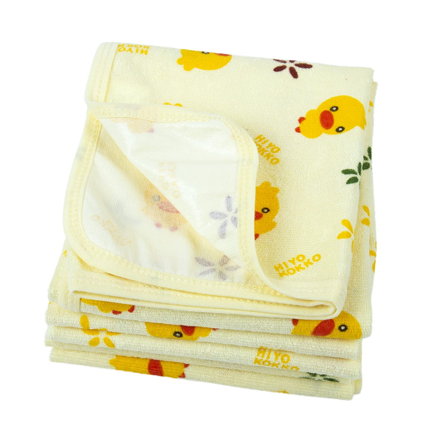 BIG ELEPHANT 3 Pack Changing Pad Liners Cotton Waterproof and Absorbent Baby Diaper Pad Q01