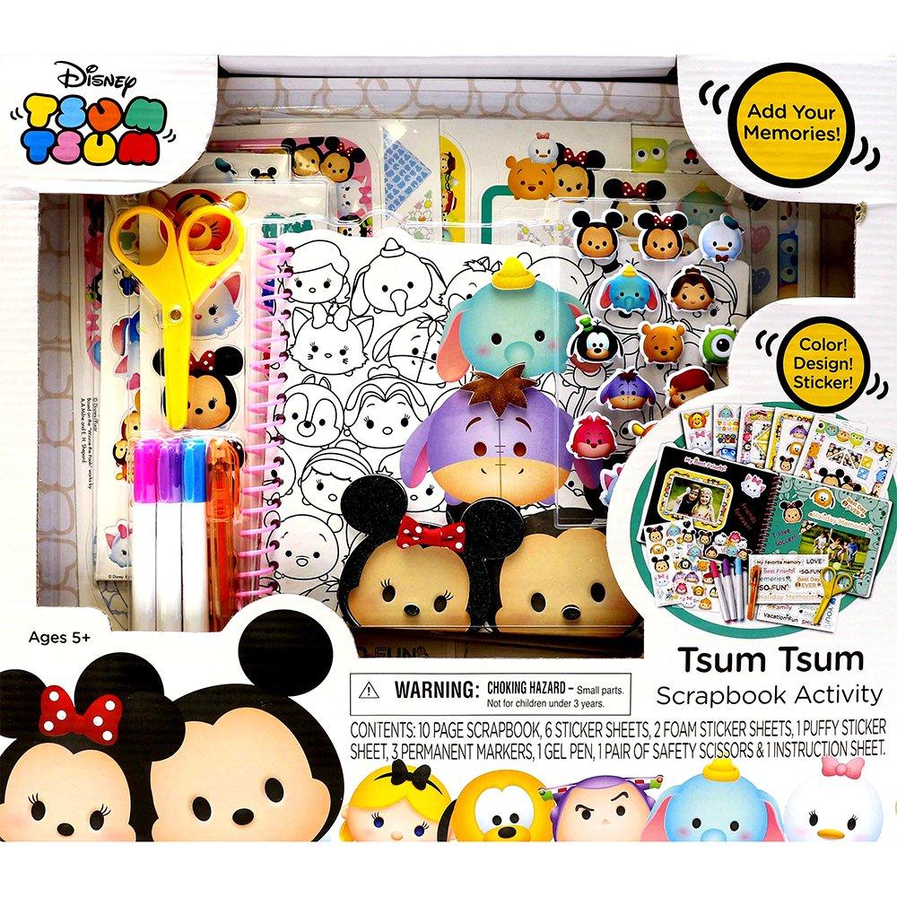 Disney Tsum Tsum Kid's Scrapbook Activity Set