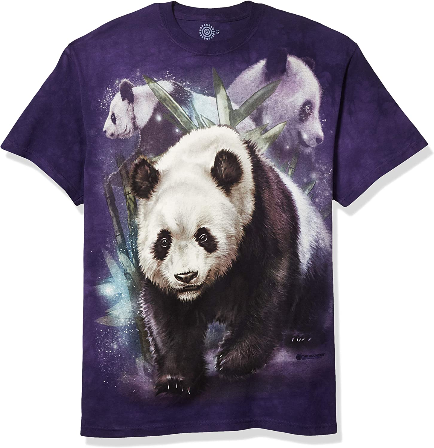 The Mountain Kids Panda Excellent Fashionable Collage T-Shirt