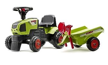 Tractor Remolque Para Niños Falk Con wOymN0v8Pn