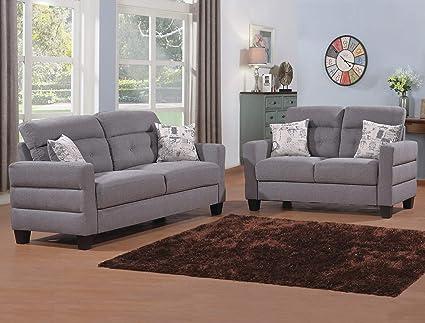 Amazon.com: Esofastore Lovely Beautiful Classic Contemporary Sofa ...