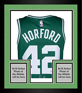 brand new 0d4a3 ca417 Framed Al Horford Boston Celtics Autographed Green Nike ...