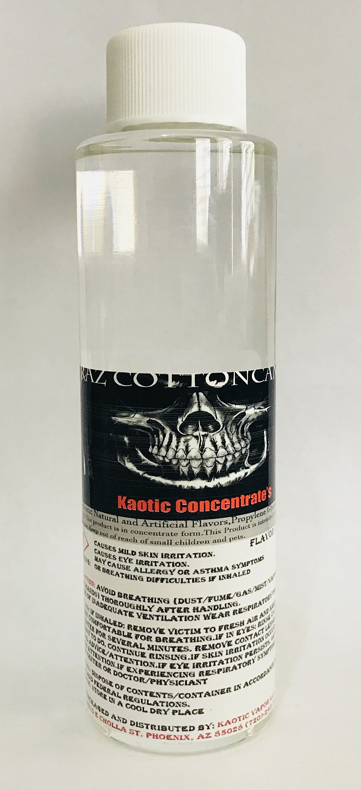 Kaotic Flavor Concentrate's, Food Grade, USA 4 oz Bottle (Cotton Candy)