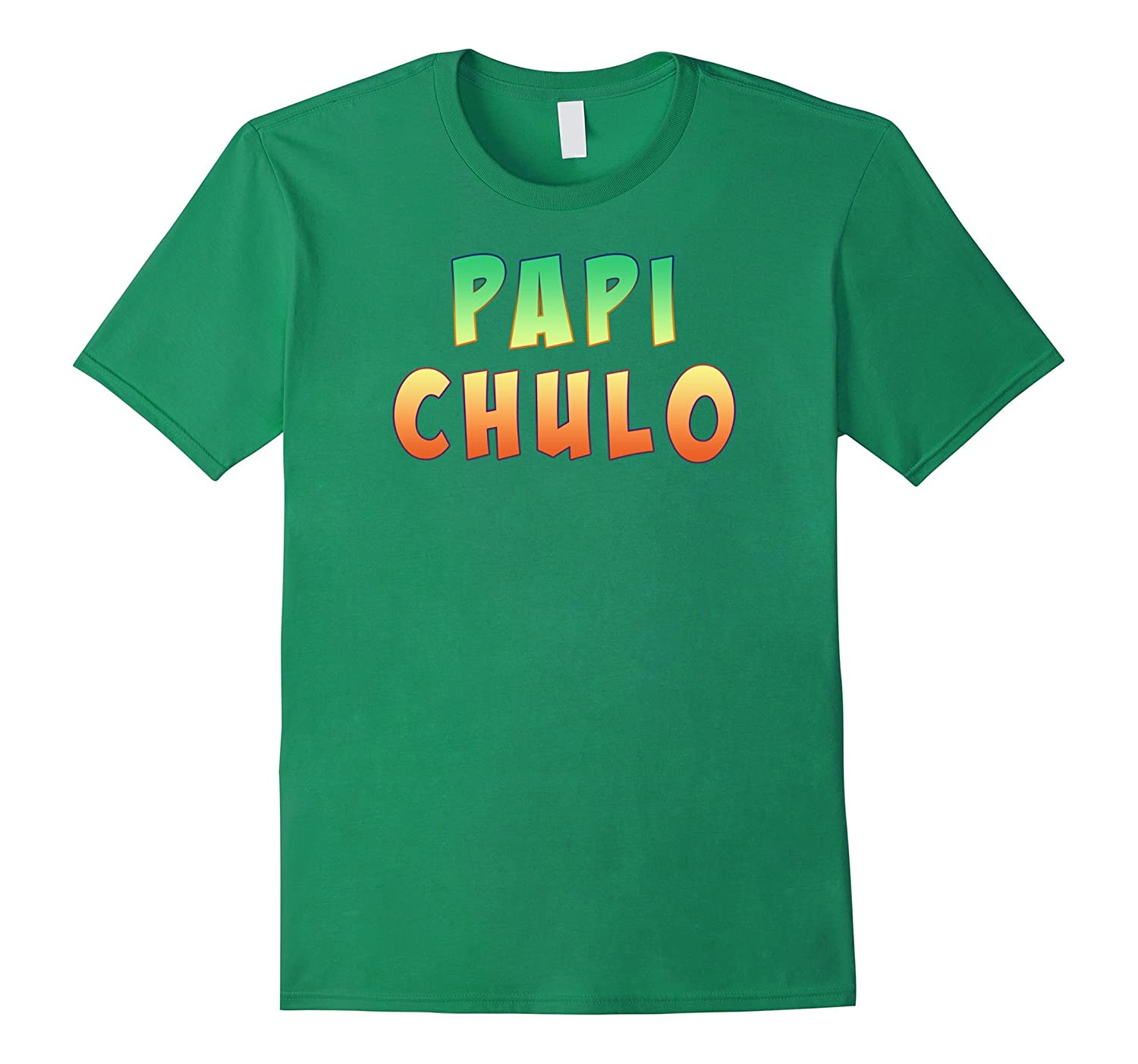 Mens Papi Chulo – Cool padre, colorful t-shirt-Protee