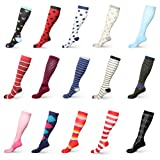 HLTPRO Compression Socks for Women and Men 20-30
