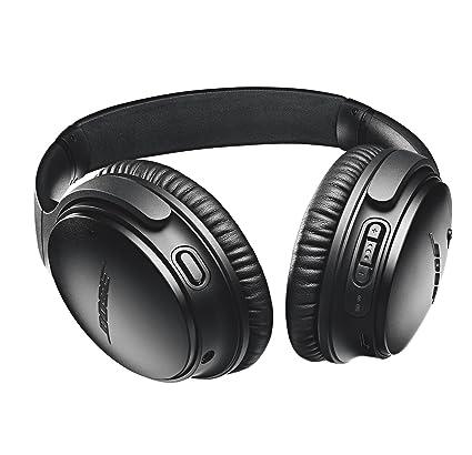 Amazon bose quietcomfort 35 series ii wireless headphones amazon bose quietcomfort 35 series ii wireless headphones noise cancelling black electronics fandeluxe Images