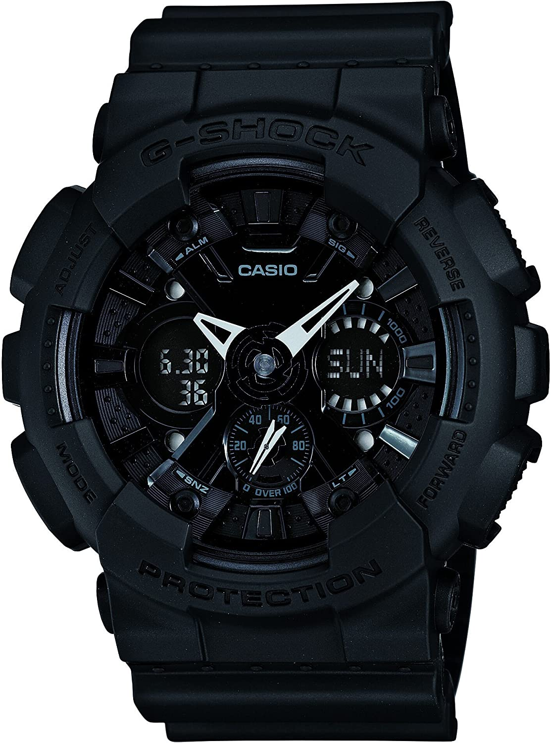 CASIO G-SHOCK Solid Colores Limited Edition GA-120BB-1AJF Japan Import