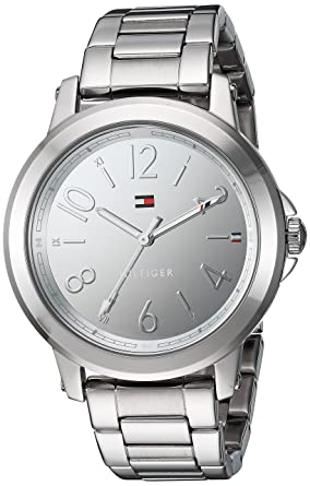 3e307a06 Image Unavailable. Image not available for. Color: Tommy Hilfiger Women's  'SPORT' Quartz Stainless Steel Casual Watch ...