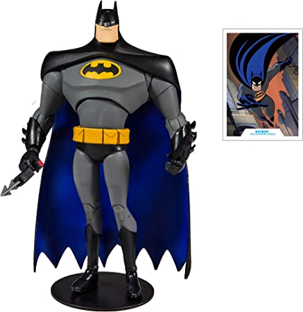 "DC Multiverse Batman The Animated Series 7/"" Action Figure Blue Variant"
