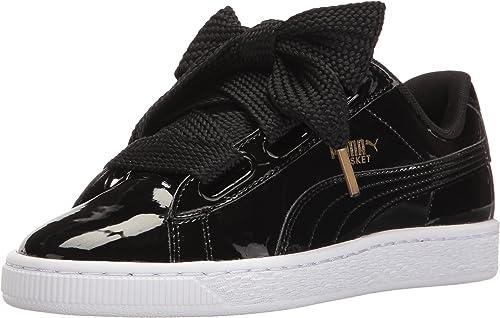 Basket Heart Patent Sneakers