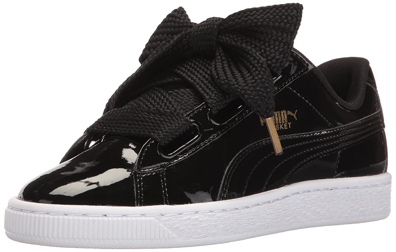 0e3037a72a9 Puma Women s Basket Heart Patent WN s Sneaker  Amazon.co.uk  Shoes   Bags