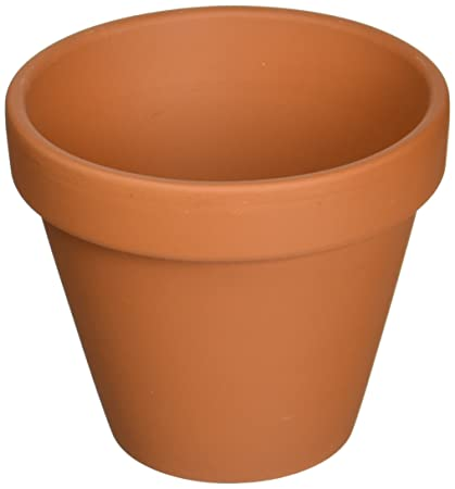 Amazon Com 5 4 25 Clay Pots Great For Plants And Crafts