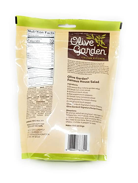Amazon Com Olive Garden Croutons 5oz Signature 16oz Red Wine