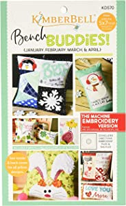 Kimberbell Designs Bench Buddies Embroidery Designs