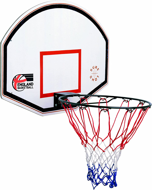 Sure Shot Kids Junior - Tablero de Baloncesto Infantil, Color Rojo ...