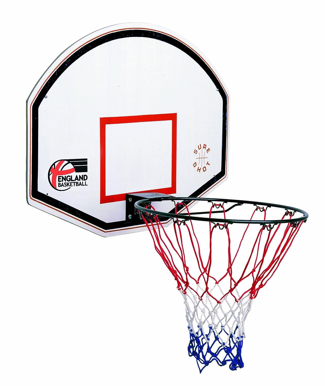 Sure Shot Kids Junior - Tablero de baloncesto infantil, color rojo/blanco 65521
