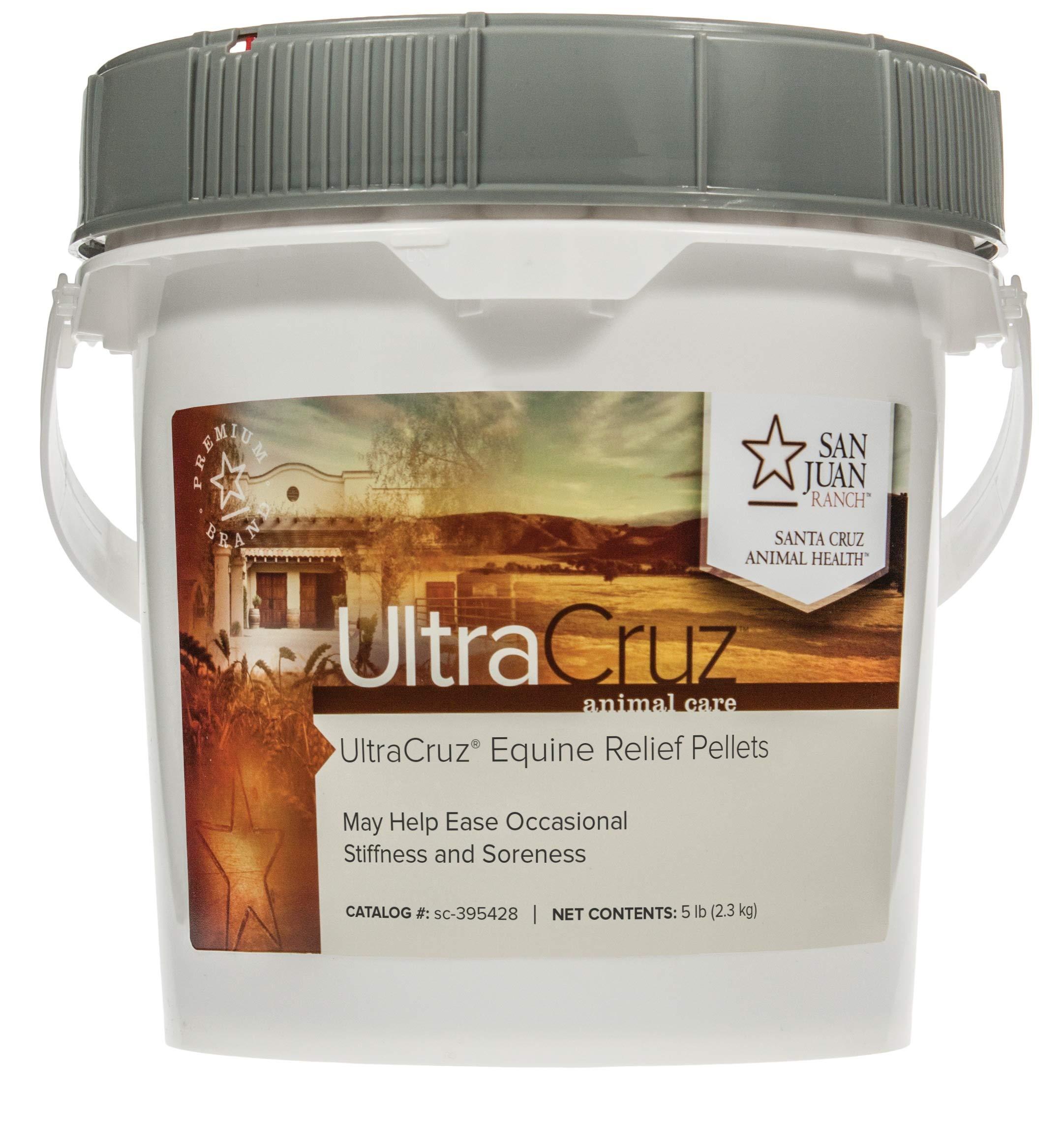 UltraCruz Equine Relief Supplement for Horses, 5 lb, Pellet (80 Day Supply) by UltraCruz