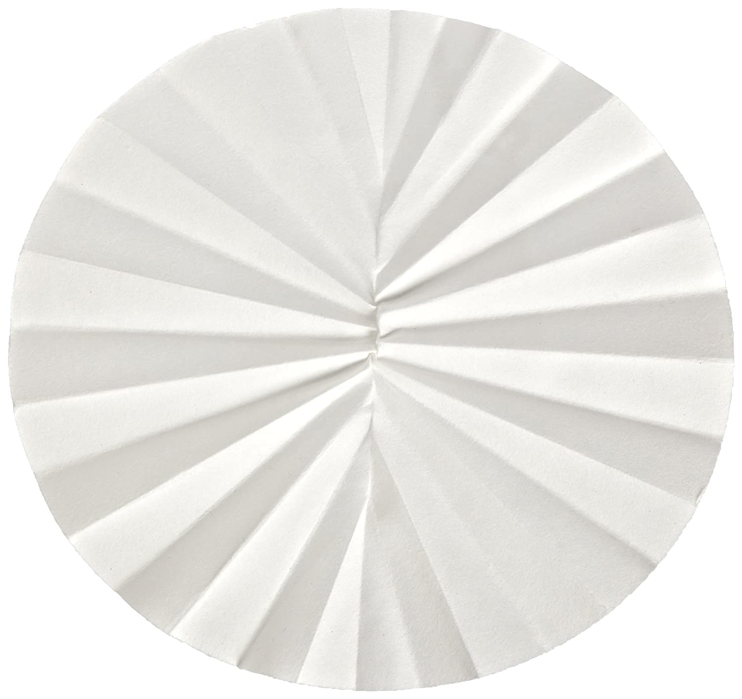 Whatman 10312256 Quantitative Folded Filter Paper WHA-10312256 Grade 598-1//2 Pack of 50 500mm Diameter 8-10 Micron