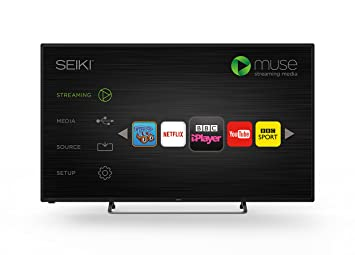 seiki 50inch widescreen 1080p full hd smart led tv with builtin wi