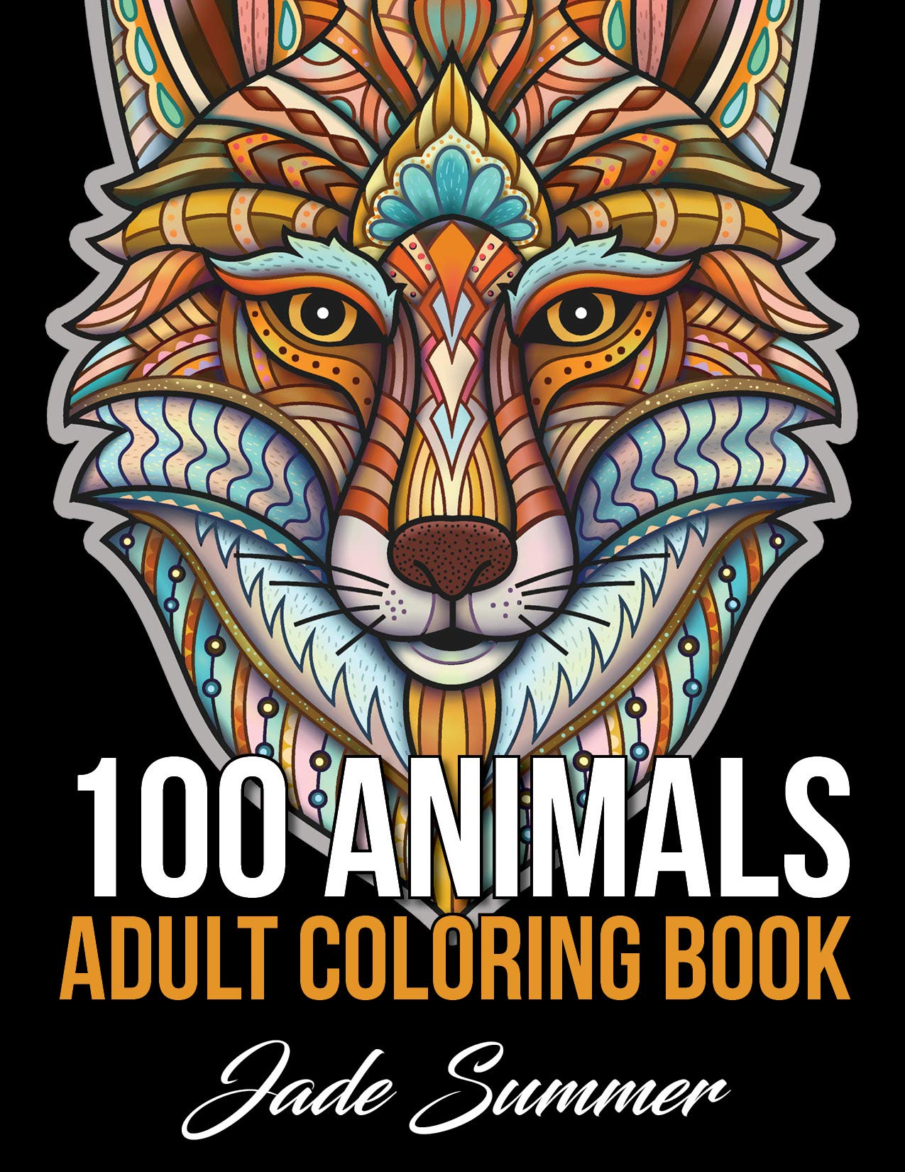 100 Animals Coloring Elephants Horses product image