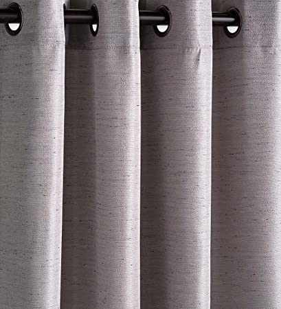 Amazon Com Plow Hearth Outdoor Woven Grasscloth Single Curtain