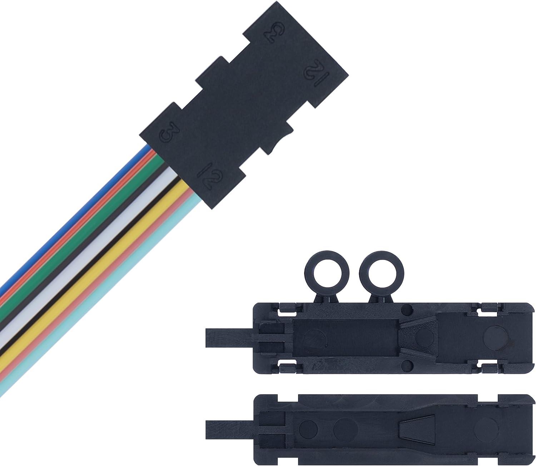 Fiber Optics Fan Out Kit - 12 Strand/Ribbon for Loose Tube Bulk Optical Fiber - 48 Inches Tubing - Beyondtech