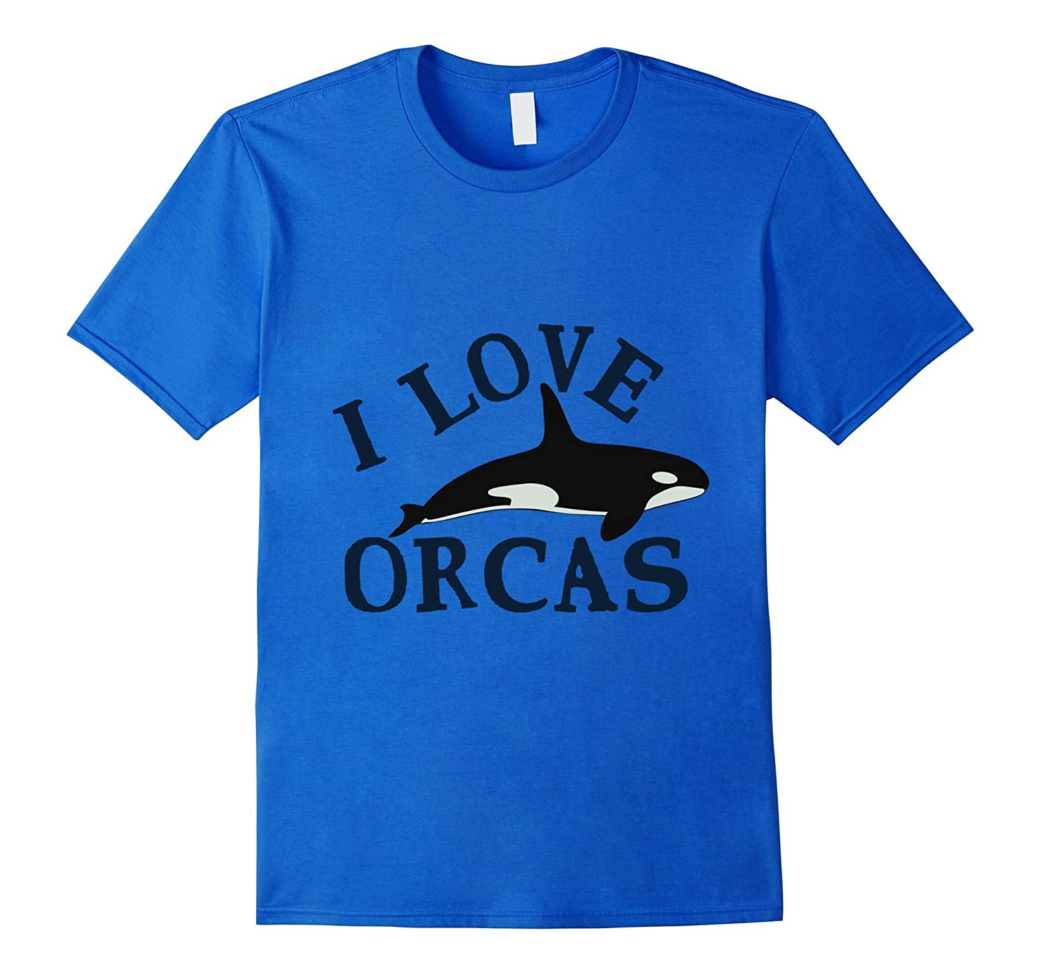 I Love Orcas - Cute Gift T-Shirt For Whale Lovers-ANZ
