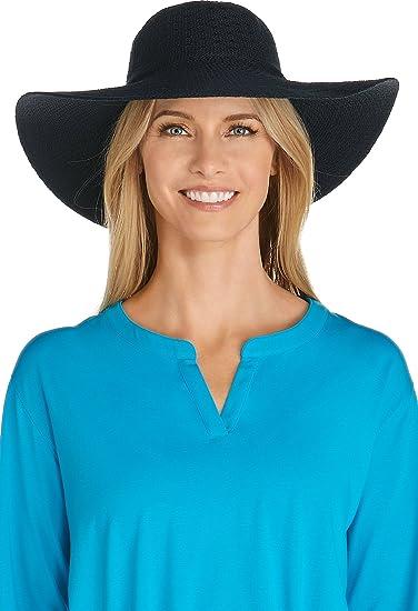 Coolibar UPF 50+ Women s Packable Wide Brim Sun Hat - Sun Protective ... eb0150b5319b